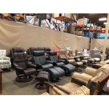Assortment of Stressless Recliners for  delivery! Various Sizes---Magic--Live--Aura---Take one Home Today!!!