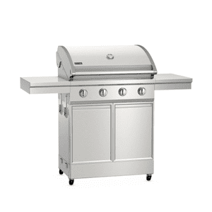 TYTUS Stainless Steel 4-Burner LP Gas Grill