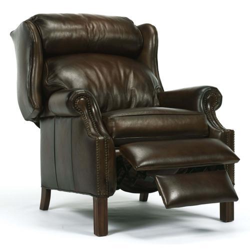 Latitudes Bonneville Leather Recliner