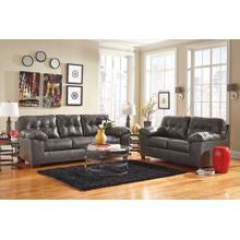 Alliston- Gray Sofa and Loveseat