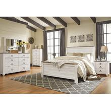 Willowton Queen Bed, Dresser, Mirror