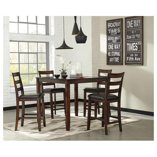 Ashley Furniture - 5 PC Counter Height Set