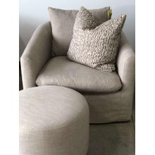 Kelly Linen Swivel Chair