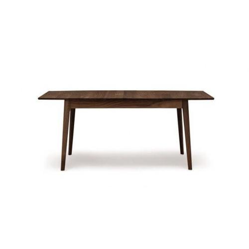 CATALINA FOUR LEG EXTENSION TABLES WITH EASYSTOW EXTENSION AND LEAF STORAGE IN WALNUT