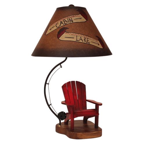 Coast Lamps - Adirondack Chair Fly Rod