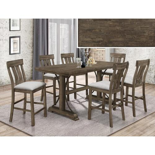 Quincy 5pc Counter Height Dining Set