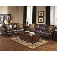 Axiom Leather Sofa & Loveseat