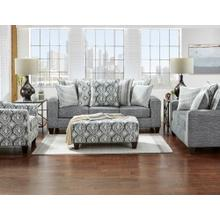 See Details - 5803-STOC  Sofa & Loveseat - Stonewash Charcoal - Sofa, Loveseat and Chair
