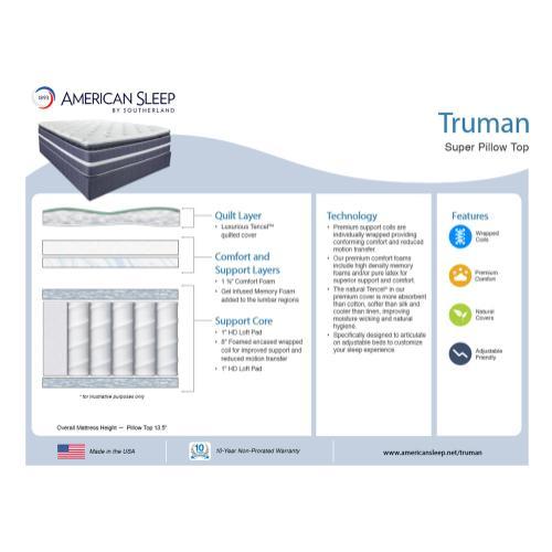 American Sleep - Truman - Pillow Top