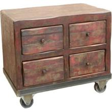 Cora 4 Drawer Side Table