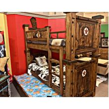 Laredo Twin/Twin Bunk Bed with Trundle Unit