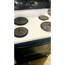 "USED- GE® 30"" Free-Standing Electric Range- E30BLCOIL-U SERIAL #7"