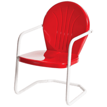 See Details - Bellaire Metal Lawn Chair