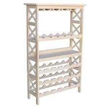 Parawood 30 x 48 X Sided Wine Rack