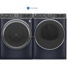 LG Front Load Pair with UltraFresh Vent System in Sapphire Blue