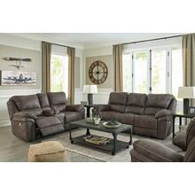 Ashley Trementon 3-Piece Power Motion Reclining Set in Graphite . 100% Polyester . CC:  W
