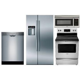 Bosch Kitchen Package w/Counter-Depth Refer (Electric)