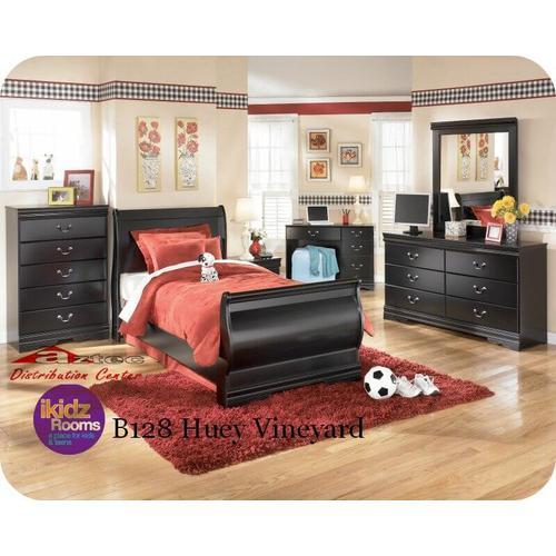 Ashley Furniture - Ashley B128 Huey Vineyard Bedroom set Houston Texas USA Aztec Furniture
