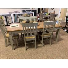 Dining Table with 4 Chairs   Bench