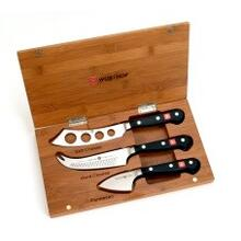 Three Piece Bamboo Cheese Set - 2103