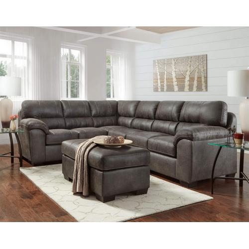 Affordable Furniture Manufacturing - Sequoia Ash 2-Piece Sectional