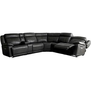 Evo Graphite 6-Piece Motion Sectional