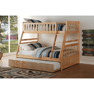 Bartly Bunk Bed Twin on Full with Twin Trundle