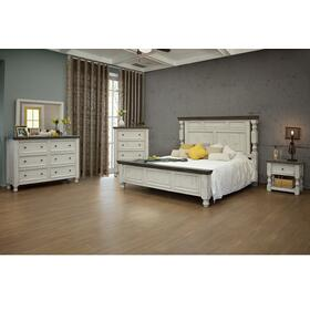 Stone 4 Pc. King Bedroom Set