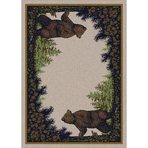 American Dakota Rugs - Twin Bears