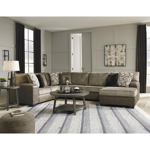Albone Chocolate 3 Piece Sectional