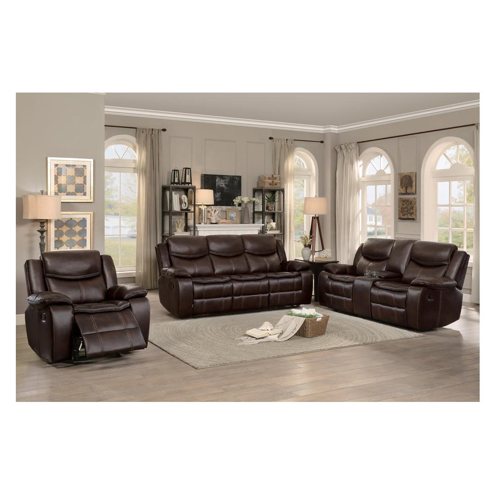 See Details - Bastrop Motion Sofa and Love Seat