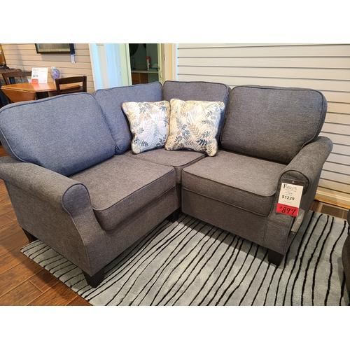 Ashley Furniture - CLEARANCE Alessio Sectional - Charcoal