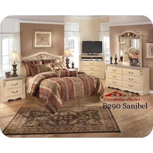Ashley Furniture - Ashley B290 Sanibel Bedroom set Houston Texas USA Aztec Furniture