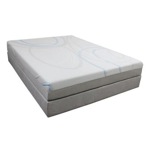 "Gel-Max Memory Foam Mattress - 8"""