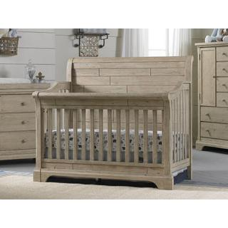 Delfino Convertible Crib Collection - Farmhouse Pine