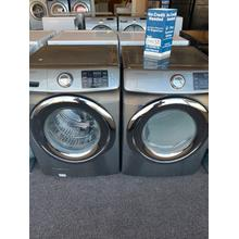 Refurbished GAS Grey Samsung Gas Front Load Washer Dryer Set Please call store if you would like additional pictures. This set carries our 6 month warranty, MANUFACTURER WARRANTY AND REBATES ARE NOT VALID (Sold only as a set)