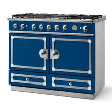 Royal Blue Cornufe 110 with Polished Chrome Accents