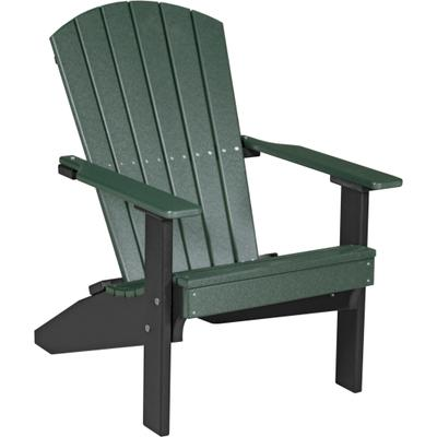 Lakeside Adirondack Chair Green and Black