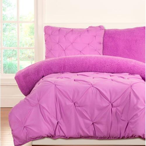 """Playful Plush Vivid Violet"" Crayola Comforter Sets Twin"