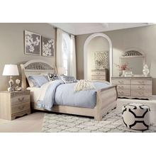 Catalina - Queen Sleigh Bed, Dresser, Mirror, 1 x Nightstand