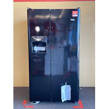 See Details - Frigidaire Black Side by Side Refrigerator