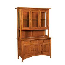 Shaker Hill Hutch w/Straight Legs