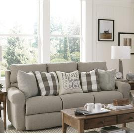 See Details - Happy Place Lay Flat Reclining Sofa Metal