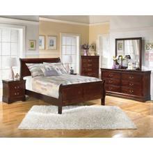 Alisdair - Queen Sleigh Bed, Dresser, Mirror, & 1 x Nightstand