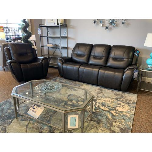 Trip Leather Power Reclining Sofa & Recliner