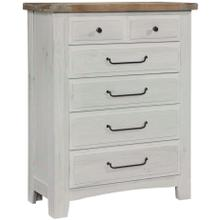 View Product - Sawmill 5 Drawer Chest