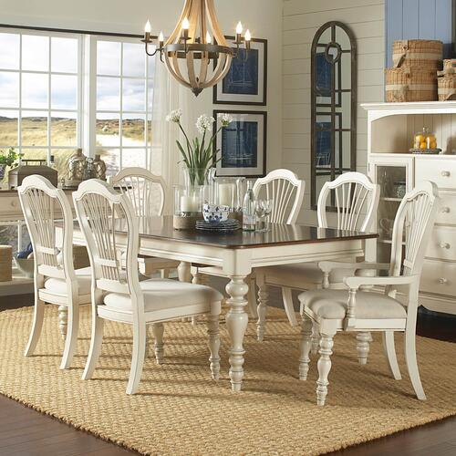Pine Island 7 piece Dining Table & Chairs