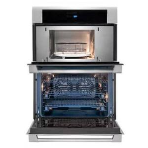 30 Inch Combination Electric Wall Oven with Convection, Sensor Cooking, Automatic Cooking, Cook-2-Perfection, Wave-Touch Controls, 6.3 cu. ft. Total Capacity, Theater Lighting, Cool-Touch Oven Door, Self-Clean and Star-K Certified Sabbath Mode