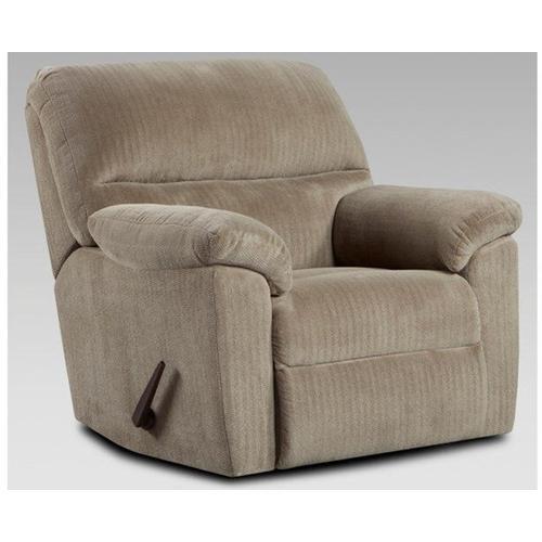 Affordable Furniture Manufacturing - Chevron Seal Rocker Recliner