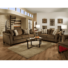 Sofa and Loveseat - Truffle